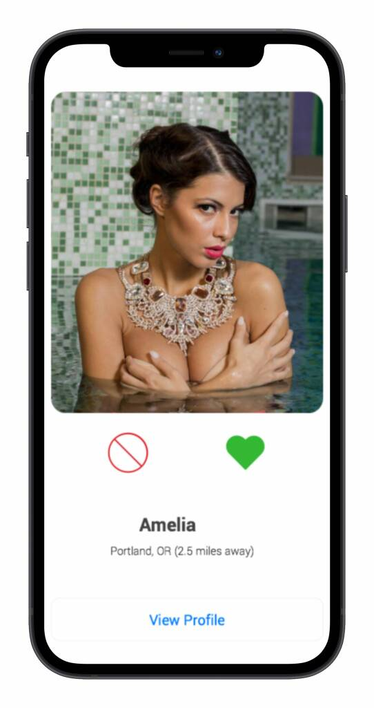 Snapsext app matches screen